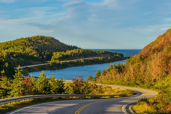 Cabot Trail in Cape Breton