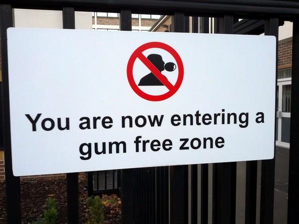 gum craziest laws