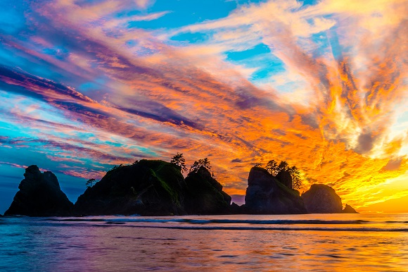 Shi Shi Beach in Washington