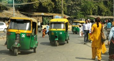 There's an increasing number of female rickshaw drivers in India