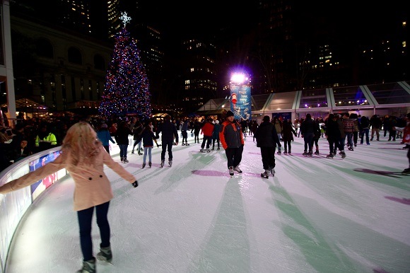 Bank of America Winter Village Bryant Park