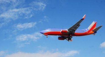 Southwest airline flight rolled off taxi way