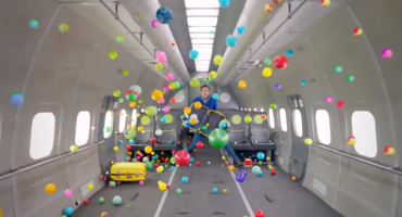 OK Go stages music video in zero gravity