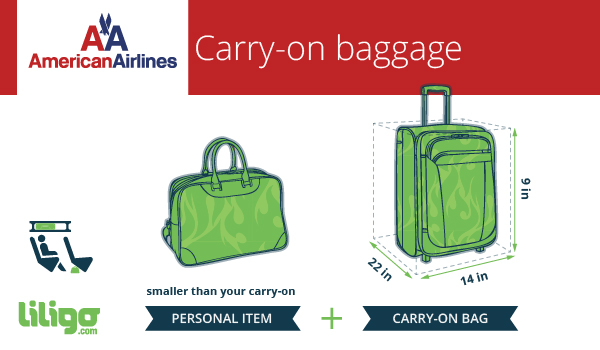 ebdcf8533e Baggage policies for American Airlines - Traveler s Edition