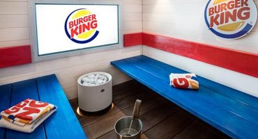 Burger King in Finland opens in-store spa!