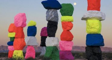 Rocky art installation pops up in Las Vegas