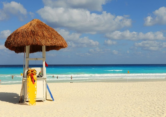 cancun beach view