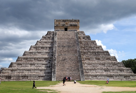Mayan ruins Chichen Itza in Cancun