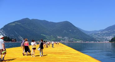 This art installation in Italy lets you walk on water!