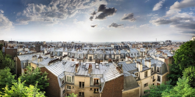 top 5 rooftop bars in paris traveler 39 s edition. Black Bedroom Furniture Sets. Home Design Ideas