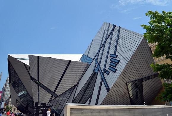 ROM museum in Toronto