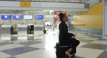 This motorized suitcase lets you ride your luggage around the airport