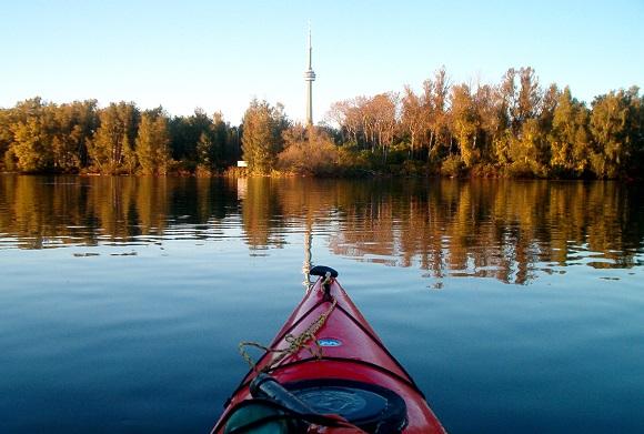 Canoe to Toronto Island