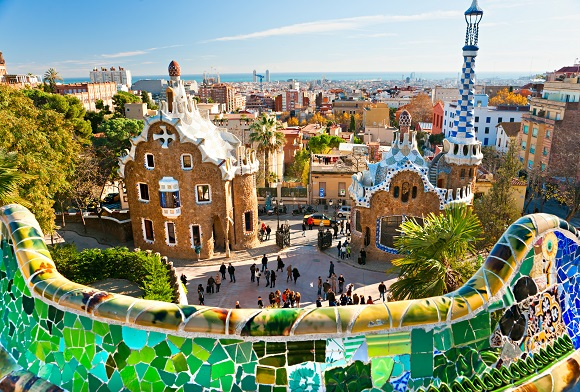 View of Barcelona from Parc Guell