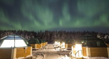 Get paid to work at an ice hotel in Finland and search for the Northern Lights
