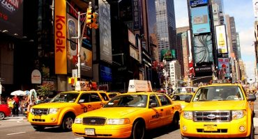 This Airbnb listing offers accommodation in New York for $39 a night…in a taxi cab