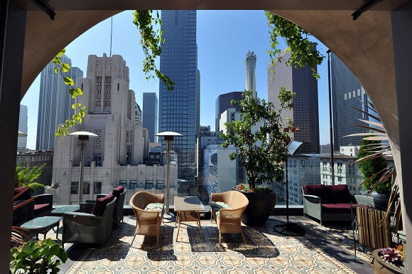 Perch rooftop bar in LA