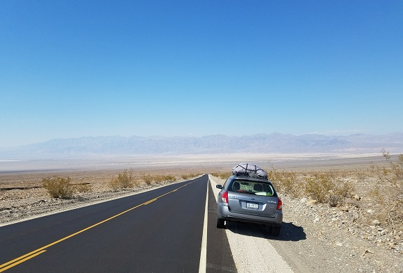Death Valley Road car
