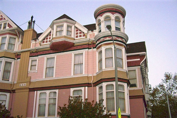 Queen Anne hotel in San Francisco