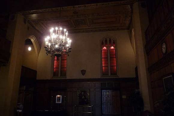 Masonic Temple foyer