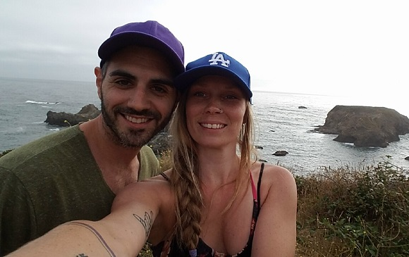Us at Oregon Coast