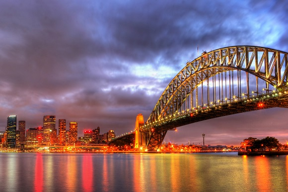 Sydney harbor bridge Australia