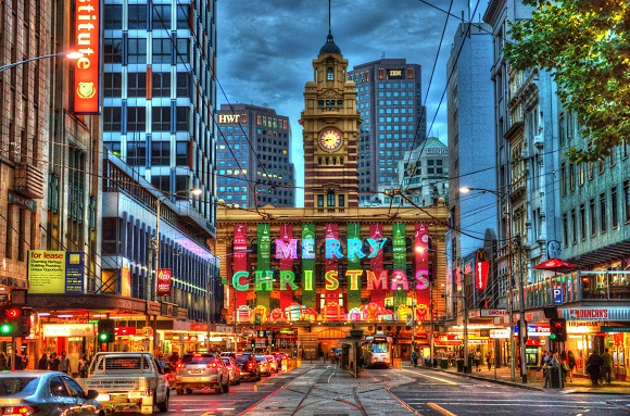 Christmas Melbourne Australia