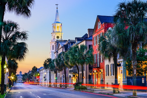 Charleston street South Carolina