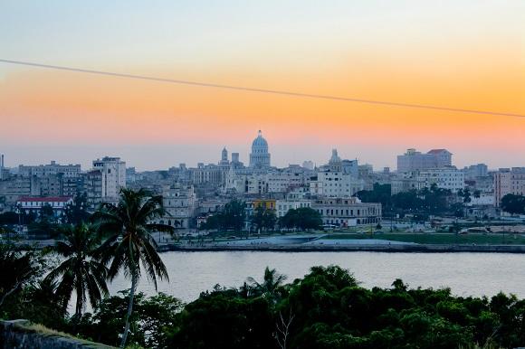 Habana old havana cuba sunset