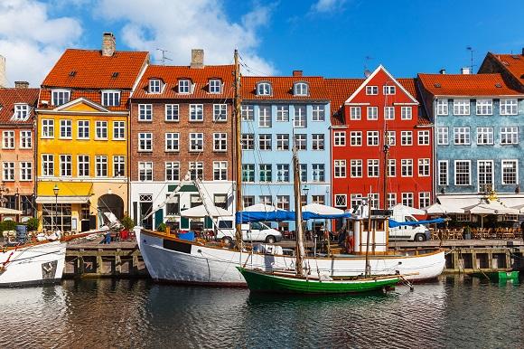 Copenhagen harbor Denmark