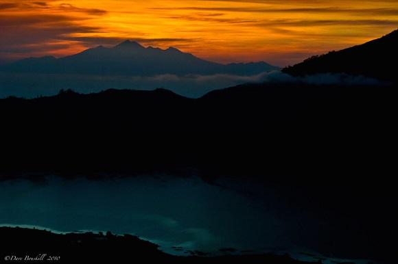 Sunrise Gunung Rinjani Lombok Bali