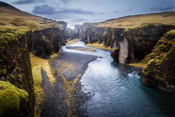 Iceland gorge
