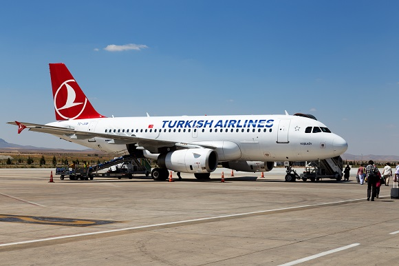 Turkish Airlines airplane