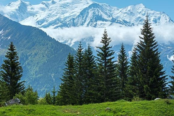 Mont Blanc France mountains