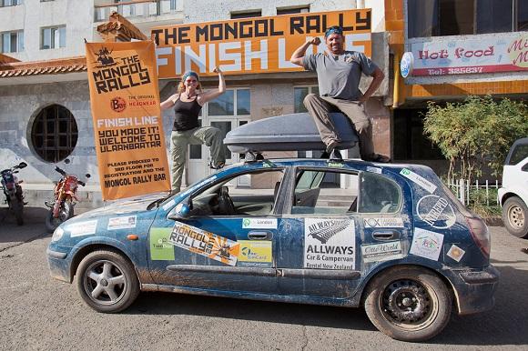 Planet D Mongol Rally