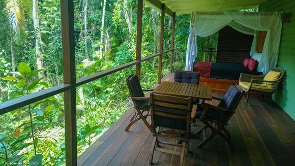 Daintree Rainforest Australia balcony