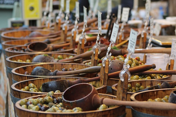 London market olives