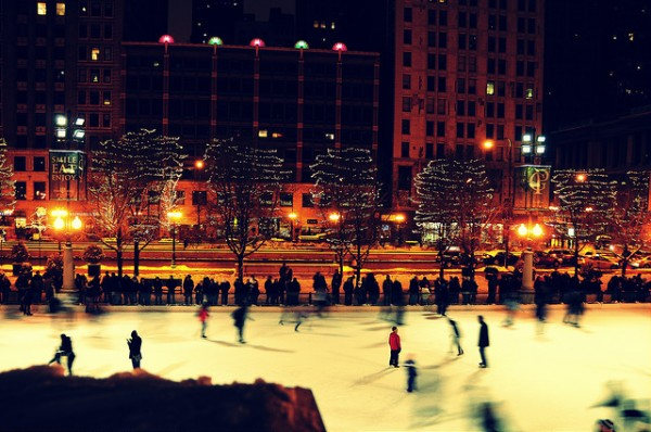 Skating in Chicago