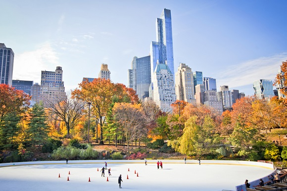 New York Fall Ice Skating