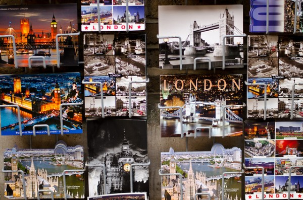 London postcards