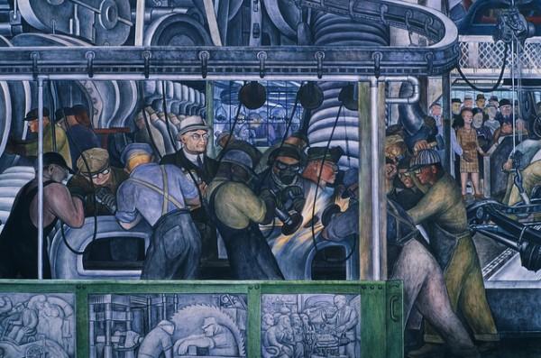 Diego Riviera mural