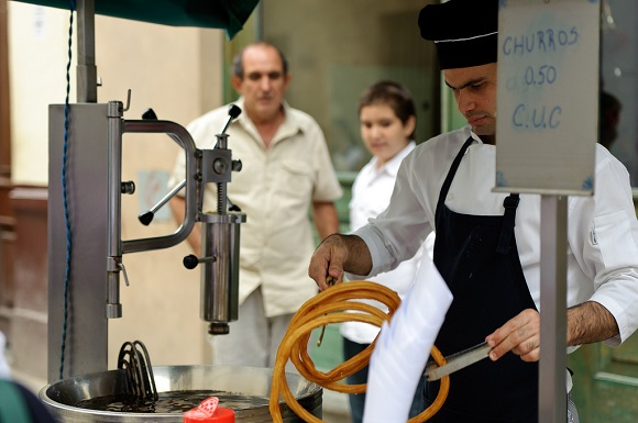 Havana street food churros