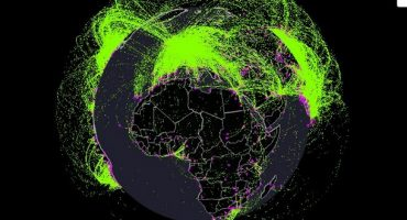 See A Year In Air Traffic, On This Interactive Map