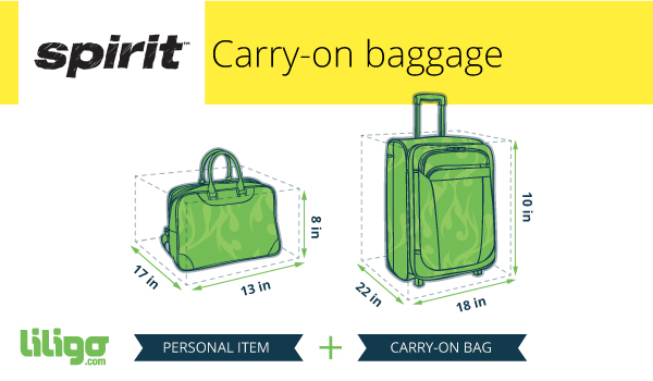 Spirit Airlines Carry On Baggage