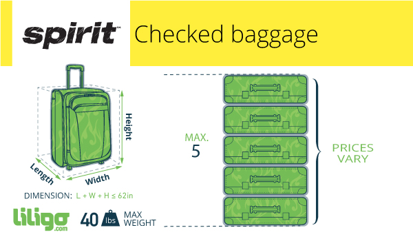 Spirit Airlines Checked Baggage