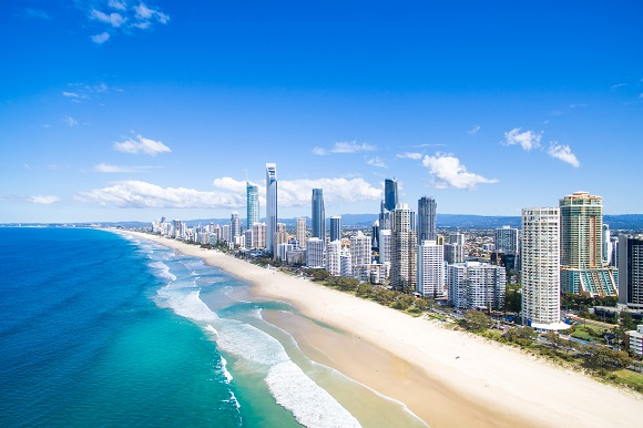 Surfers Paradise on Australia's Gold Coast