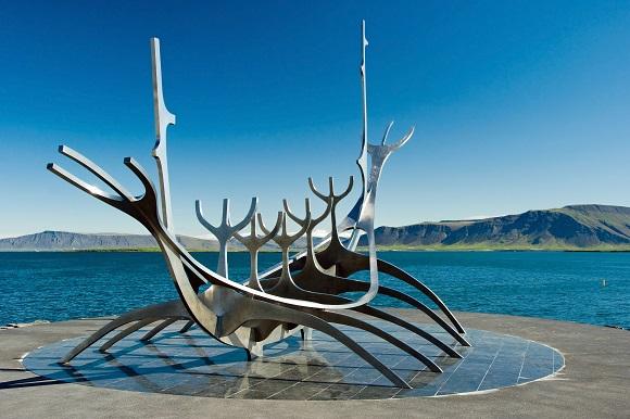 Reykjavik sculpture