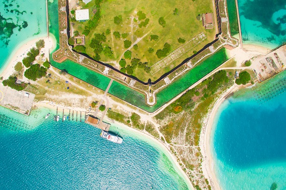 ort Jefferson, Dry Tortugas National Park,