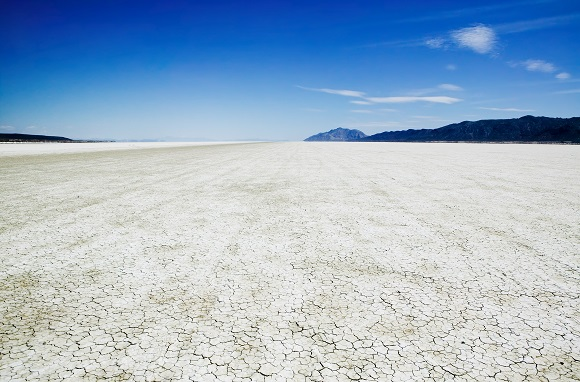 Salt Flats in the Black Rock Desert