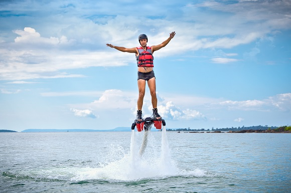 Flyboarding watersport